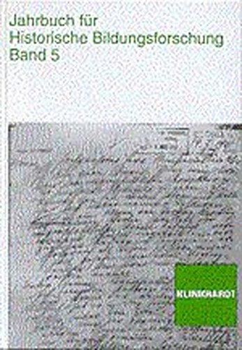 Jahrbuch für Historische Bildungsforschung, Bd.5