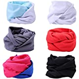 HDE 6 Pack Women's Headband Boho Style Criss Cross Head Wrap Elastic Hair Band