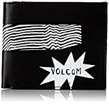 Volcom Unisex-Erwachsene Corps Large Geldbeutel Wallet Geldbörse, Schwarz (Blackout), 3x10x12 cm