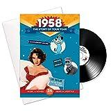 1958 Jubiläum oder Geburtstag Geschenke - 1958 4-in-1 Karten und Geschenk - Story of Ihr Jahr, CD, Musik-Download
