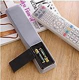 DinRoll TV Air Zustand Wasserdicht Beutel Taschen Fernbedienung Controller Silikon Displayschutzfolie Schutzhülle Staub (weiß)