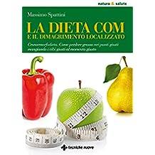 La dieta COM e il dimagrimento localizzato: Cronormorfodieta. Come perdere grasso nei punti giusti mangiando i cibi giusti al momento giusto