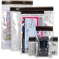 Bolsas de Plástico con Cierre Superior DriStore LocTops - Marca Lifeventure - Transparente, Diversos