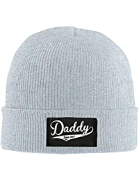 VTXWL Personality Caps Hats b Adult Hats Daddy Since 2017 Men Women WL Cap  Cartn Beanies f9a3c00affc