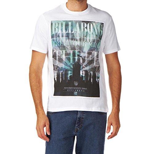 G.S.M. Europe - Billabong Herren Unity Tee SS T-Shirt, White, M