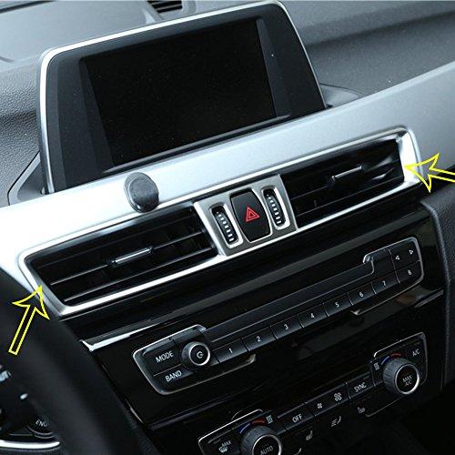 Zubehör car-styling ABS matt chrom Konsole Klimaanlage Vent Cover Trim