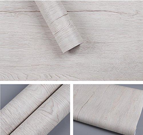 Selbstklebendes Vinyl Kunstleder helles Holz Kontakt Papier für Küche Schränke Regalen Schublade Tisch Schreibtisch Kunst und Handwerk Aufkleber 61x 199,6cm (Ahorn Vintage Schreibtisch)
