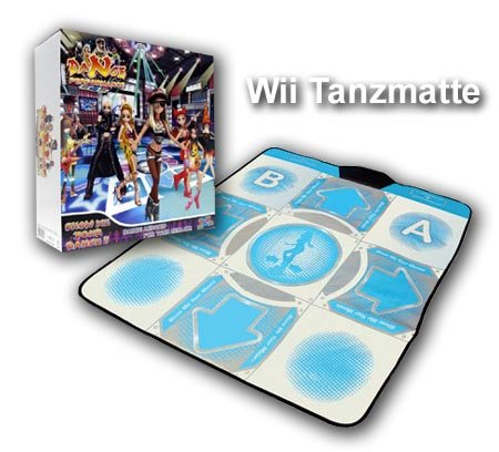Wii - Tanzmatte  Dance Perfomance Dance Pad