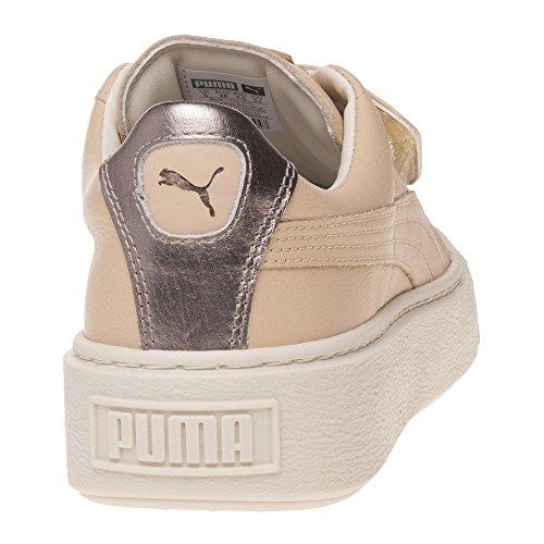 Puma Platform Strap Up Femme Baskets Mode Naturel NATURAL|NUDE