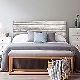 setecientosgramos Cabecero Cama PVC | WoodG | Varias Medidas | Fácil colocación | Decoración Dormitorio (150x60cm)