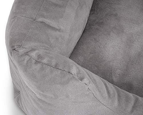 Knuffelwuff Hundebett M-L Hundekissen Hundesofa Hundekorb waschbar Dreamline Grau - 4