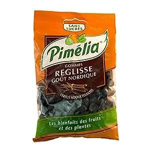 Pimelia Gommes Reglisse Goût Nordique Sans Sucre 100g