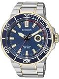 Citizen Herren-Armbanduhr Analog Quarz Edelstahl AW1424-62L