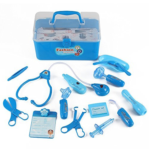 liberty-imports-medical-box-blue-doctor-nurse-medical-kit-playset-for-kids-pretend-play-tools-toy-se