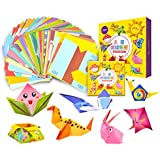 108pcs Kids Cartoon Color Paper Folding Toys Children Kingergarden Art Craft DIY Educational Toys
