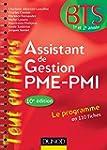 Assistant de gestion PME-PMI - 10e �d...