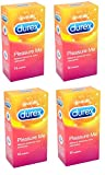 48 Durex Pleasure Me Ribbed and Dotted Condoms
