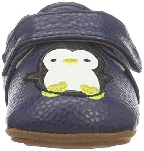 Rose & Chocolat Rcm 1052, Chaussures Marche Bébé Garçon Blau (Happy Penguin Navy)