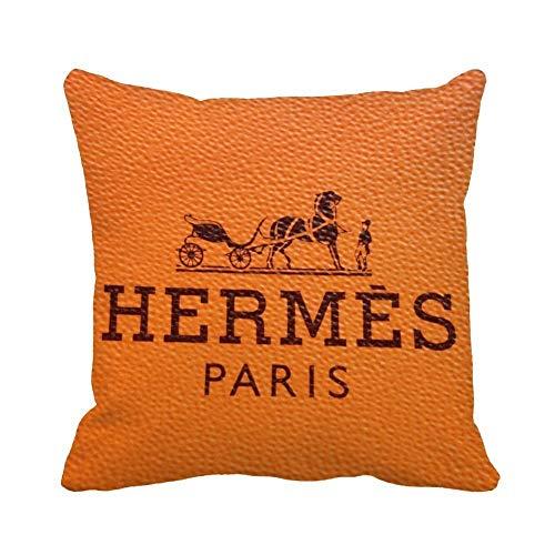 96688PLAOO Hermes Throw Pillow Case Cushion Home Sofa Decorative Taies d'oreillers (50cmx50cm)