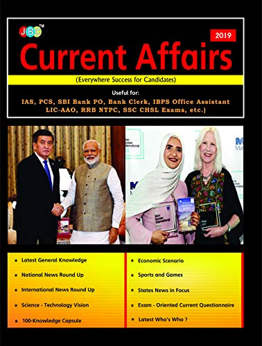 Current Affairs 2019 - useful for: IAS, PCS, SBI, Bank PO, Bank Clerk, IBPS Office Assistant LIC-AAO, RRB NTPC, SSC, CHSL, Exams, etc