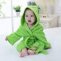 YPDM Bathrobe Hooded Animal modeling Bathrobe Cartoon Towel Character kids bath robe beach towels