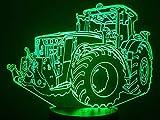 Traktor JOHN DEERE, 3D-Lampe LED