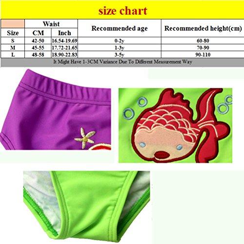 Zhuhaitf Cute Baby Boys Girl Kids Swimwear Swimming Trunks Swim Shorts Blue