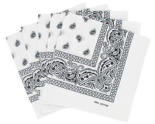 pacco-5-paisley-bandana-bianco-foulard-in-cotone-paisley-venduti-da-5
