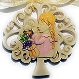 TrAdE shop Traesio 12Bomboniere Kommunion Mädchen Baum der Leben Sacramento Keramik Hake