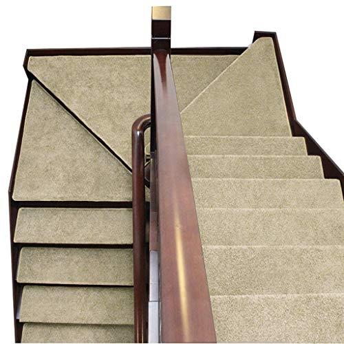 Tappeto per Scale Autoadesivo Set di 5 65x24cm Skid-Resistant Tappeto SetStep Non Scivolare Floor Protector Lavabile Disponibile in 5 Colori (Colore : E)
