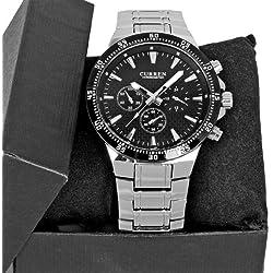 CURREN Luxury Fashion Men Wrist Watch Stainless Steel Band Men's Sport Watch Business Casual Watch