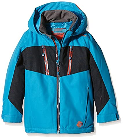 Ziener Kinder Jacke Adam Jun Jacket Ski, Blue Atoll, 140, 157909