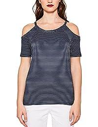 Esprit 077ee1k005, T-Shirt Femme