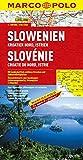 MARCO POLO Länderkarte Slowenien, Kroatien Nord, Istrien 1:300.000 (MARCO POLO Länderkarten) - Polo Marco