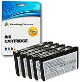 5 Tintenpatronen kompatibel zu Epson T573 C13T573040 für Epson Picturemate 100 - Color, hohe Kapazität
