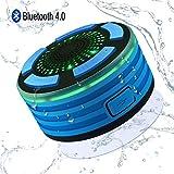 Alitoo Speaker Bluetooth Impermeabile Altoparlante doccia Portatile Stereo resistente all'acqua...