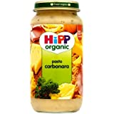 HiPP Organic Stage 3 from 10 months Growing up Meal Pasta Carbonara 250g (6pk) 1x 6x250g