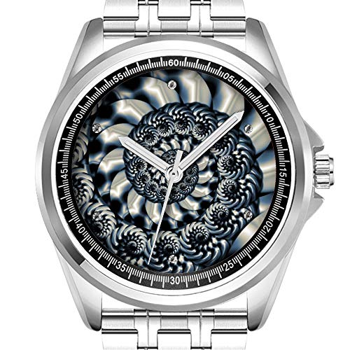 Personalisierte Herrenuhr Mode wasserdicht Uhr Armbanduhr Diamant 808.Metallarbeiten