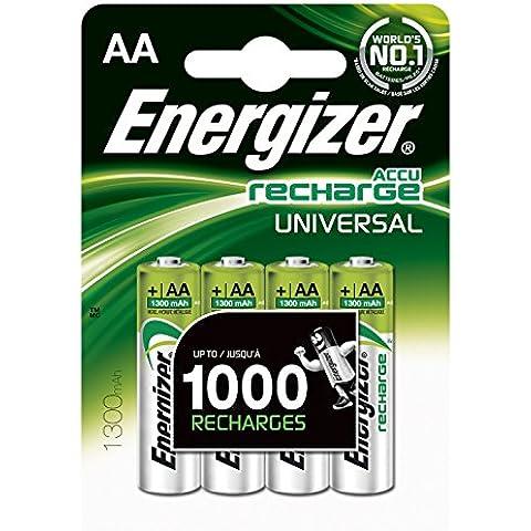Energizer Battery AA/LR6 Ni-Mh 1300mAh 4,