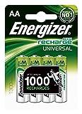 Energizer 6Stück je 4ACCUS wiederaufladbare Batterien HR6Universal AA 1300mAh