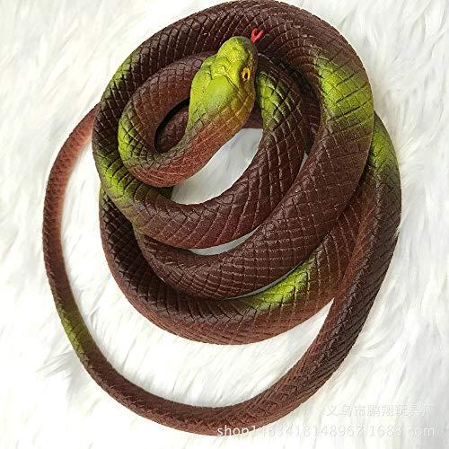 OYBB Kissen umweltfreundlich Simulation Schlange Länge 140cm Weiche Schlange Schlange Ganze Person Spielzeug gefälschte Schlange Requisiten Schlange