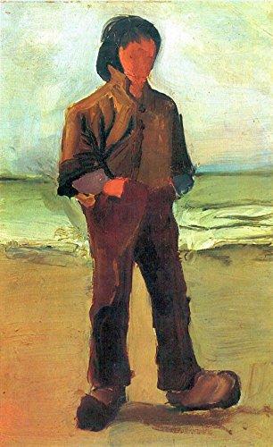 Das Museum Outlet-Fisher auf der Shore by Van Gogh-Leinwand (61x 45,7cm)