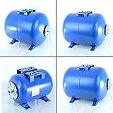 Réservoir sous pression IBO - Quatre tailles: 24, 50, 80et 100 litres - Réservoir à vessie avec raccordement 2,5 cm et membrane EPDM