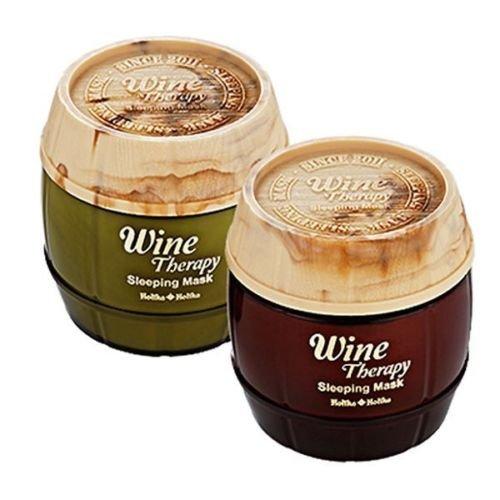 Holika Holika Wine Therapy Sleeping Mask Pack 120ml Red Wine ( Just One) -