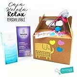 """Set Regalo""""RELAX"""" con Productos WELEDA   Regalo para Mujeres, Madres, Profesoras y Novias   PERSONALIZABLE con Productos BIO 100% naturales y Accesorios PREMIUM"""