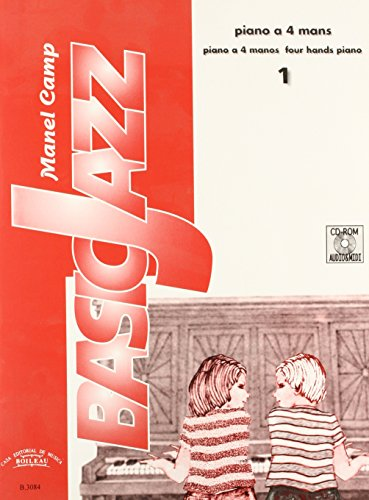 Descargar Libro BasicJazz Vol. I - Piano a 4 mans de Manel Camp