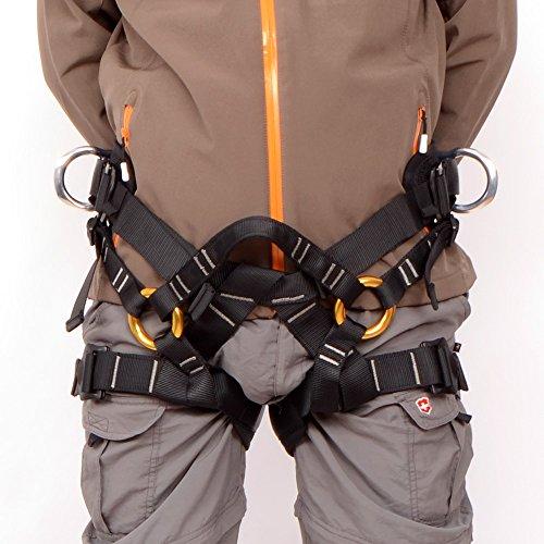 Gazechimp Sicherheitsgurt / Klettergurt für Klettern Baumpflege Abseilen Bergsteigen - Sports