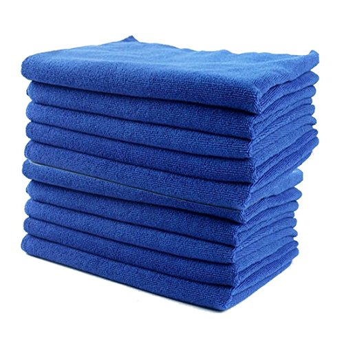 10-pack-blue-microfiber-soft-towel-washing-cleaning-cloth-wavy-edge-accessories-easy-quick-dry-anti-