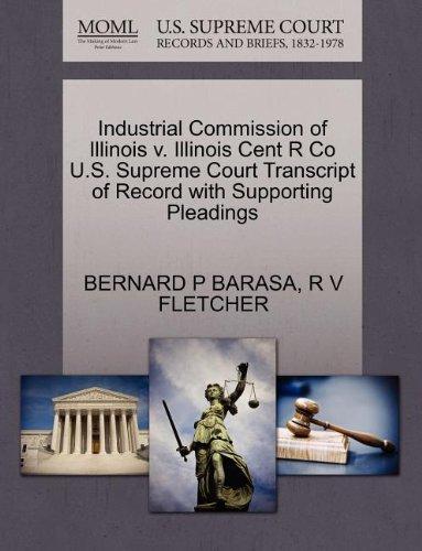 Industrial Commission of Illinois V. Illinois Cent usato  Spedito ovunque in Italia