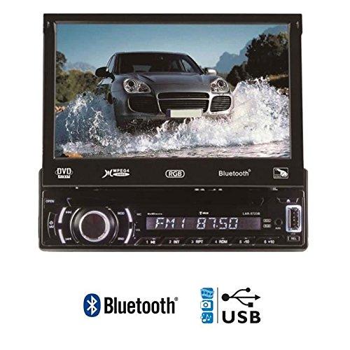 TOKAI Autoradio RDS Bluetooth–DVD-Player–CD–MP3–USB–R lar5723b–CR RW–Abnehmbare Frontplatte, Touchscreen schwarz (Abnehmbare Frontplatte Touchscreen)